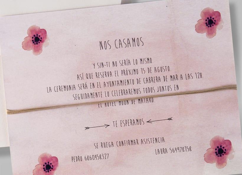 Diseño de invitaciones de boda. 18