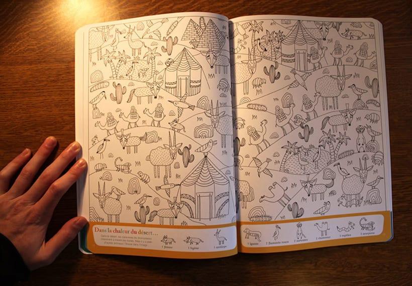 """Libro """"Cherche et trouve les animaux"""" 4"""