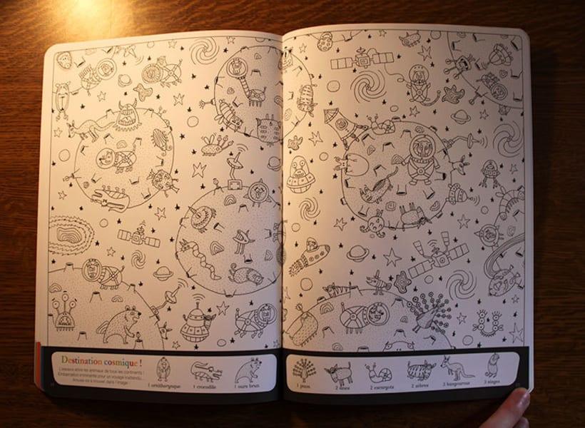 """Libro """"Cherche et trouve les animaux"""" 5"""