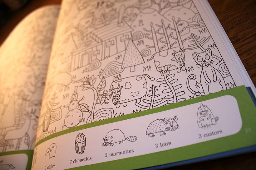 """Libro """"Cherche et trouve les animaux"""" 7"""