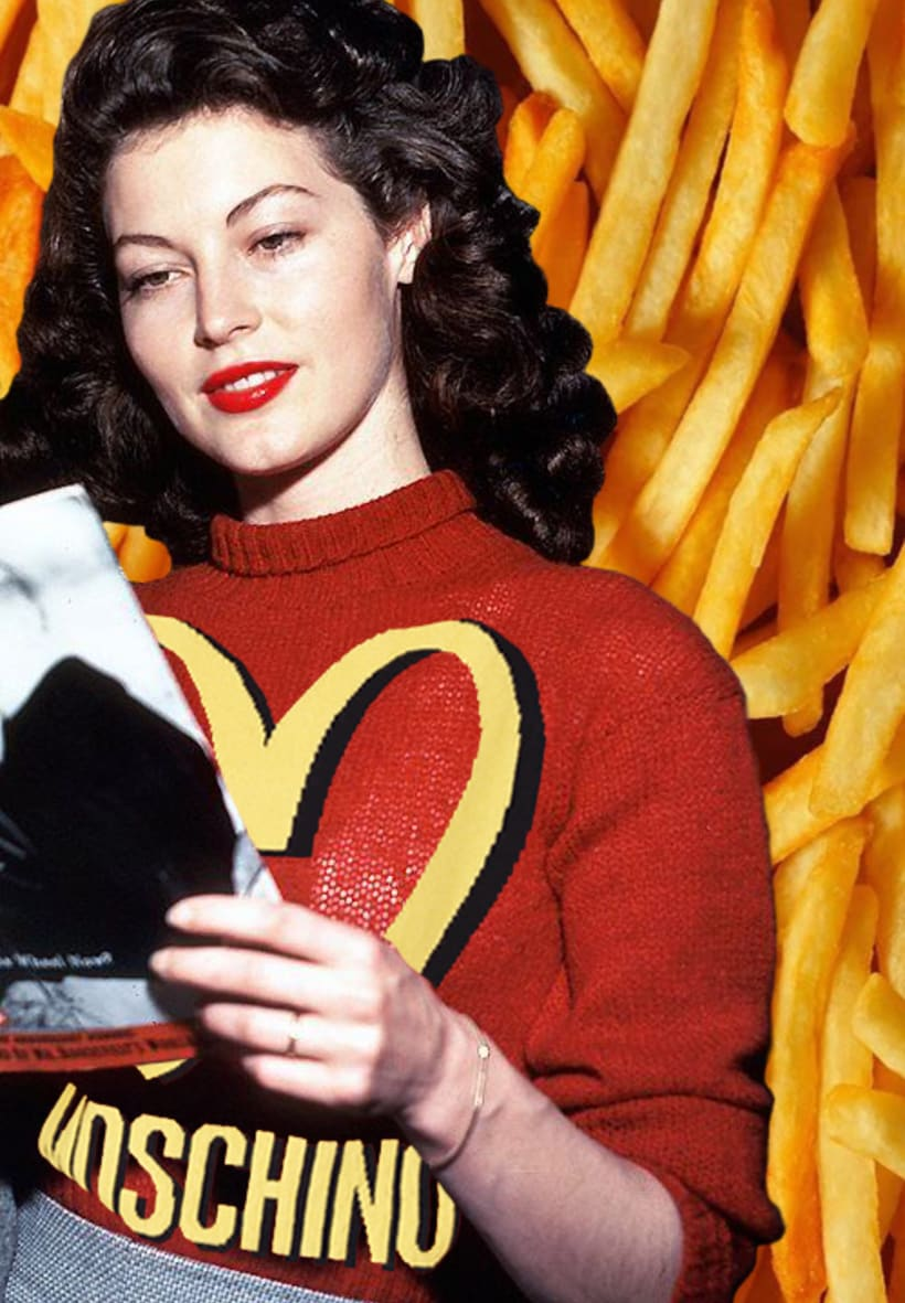 Ava Gardner Collages 2