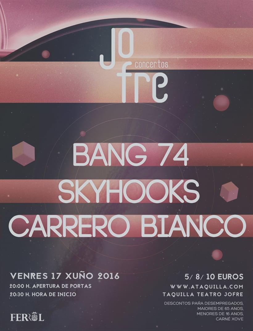 Conciertos Jofre Junio 2016 (Galicia) 1
