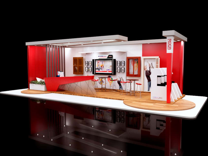 Stand 3D 5