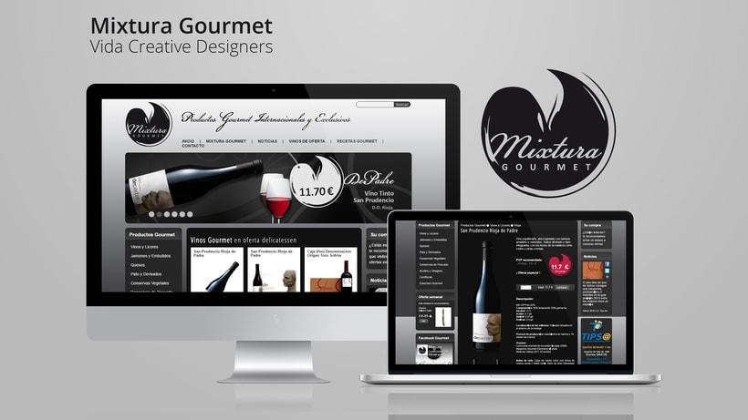 Mixtura Gourmet - Vida Creative Designers -1