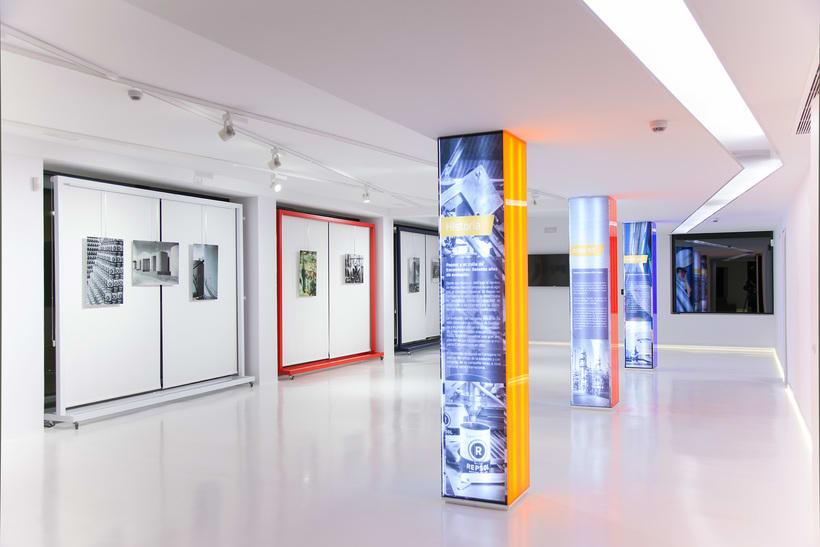 Museo-Centro de interpretación. Repsol.Refinería de  Cartagena.2016. 3