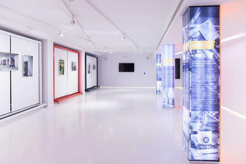 Museo-Centro de interpretación. Repsol.Refinería de  Cartagena.2016. 25