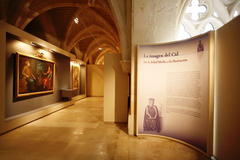 Diseño de Exposición El Cid Campeardor. Catedral de Burgos. 2008. 7