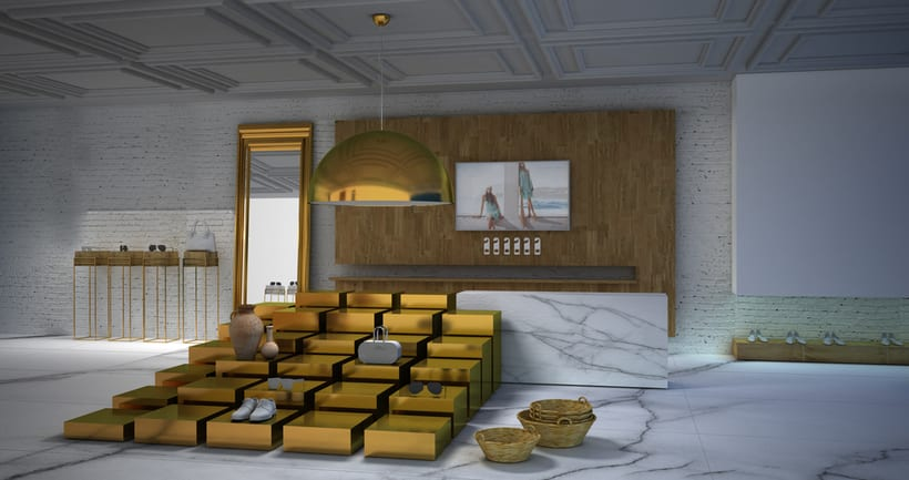 Diseño Espacio Comercial Boutique. Hotel Mediterranea.2014. 0