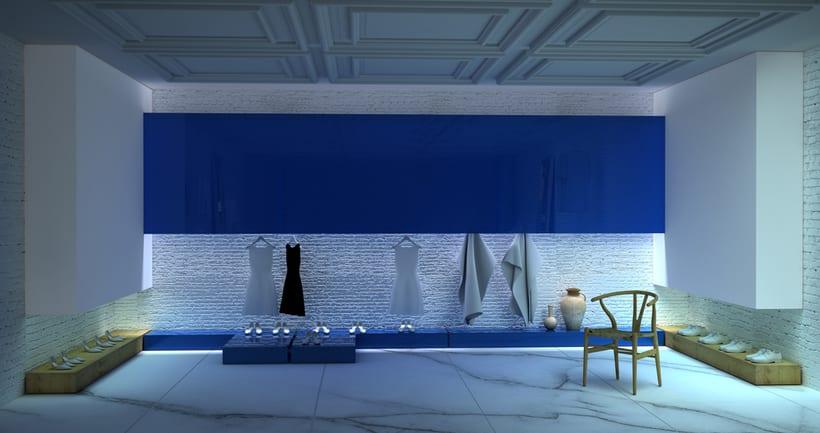 Diseño Espacio Comercial Boutique. Hotel Mediterranea.2014. 1