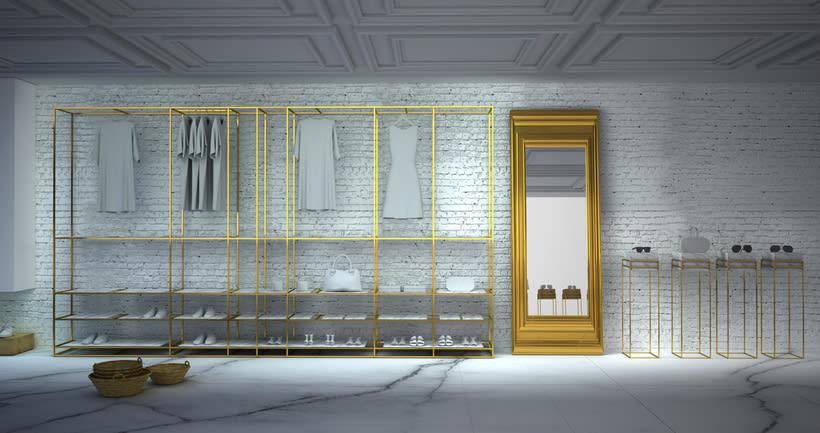 Diseño Espacio Comercial Boutique. Hotel Mediterranea.2014. 2