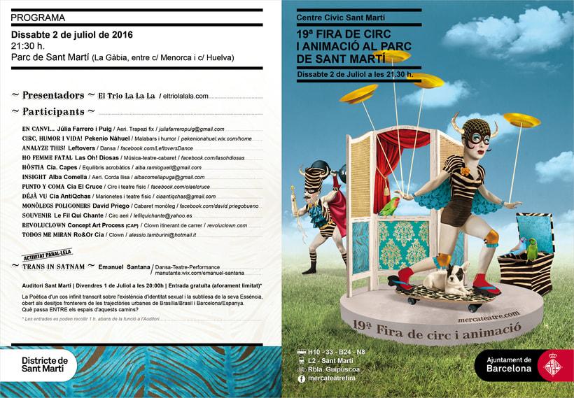 19ª Fira de Circ i Animació al Parc de St MartíNuevo proyecto 1