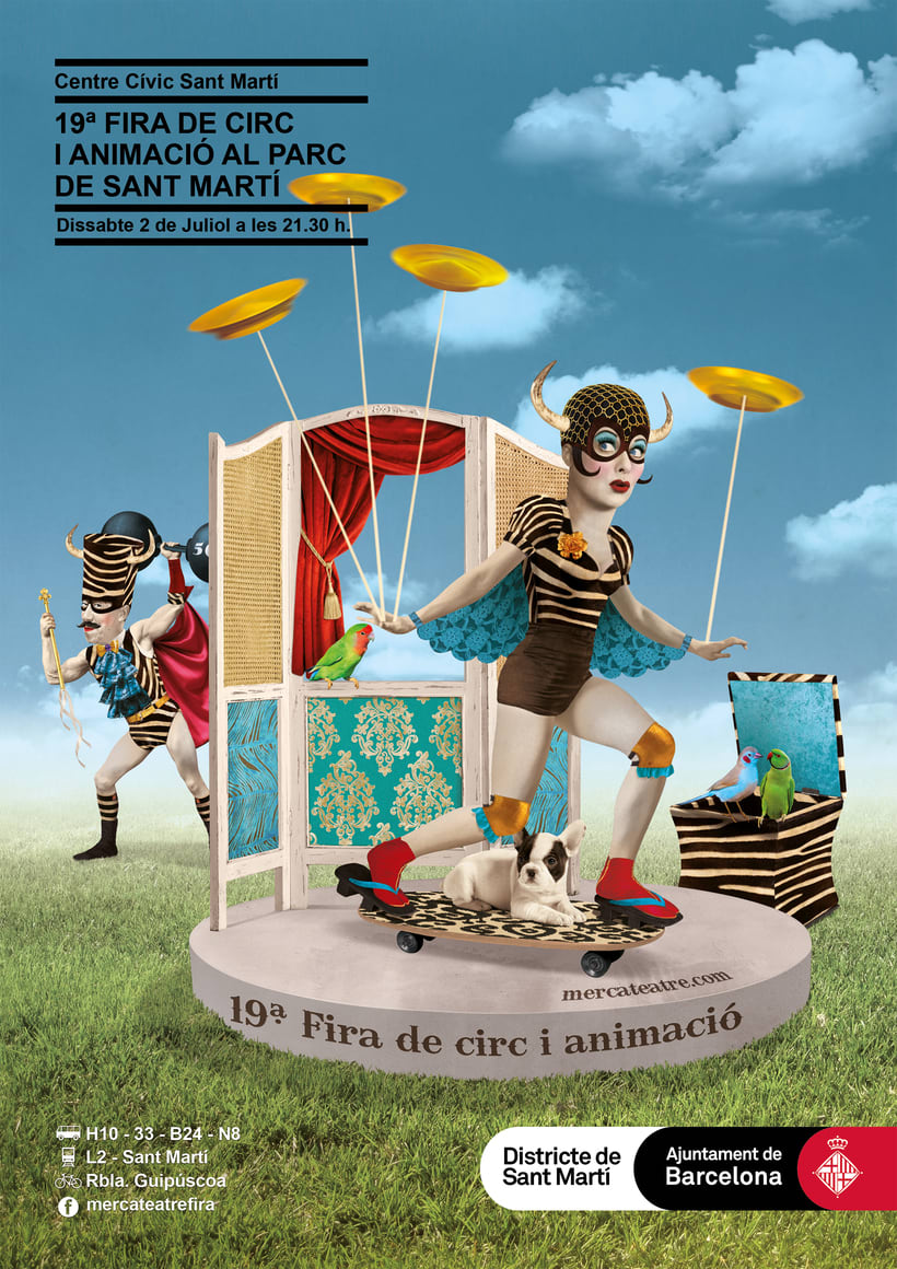 19ª Fira de Circ i Animació al Parc de St MartíNuevo proyecto 0