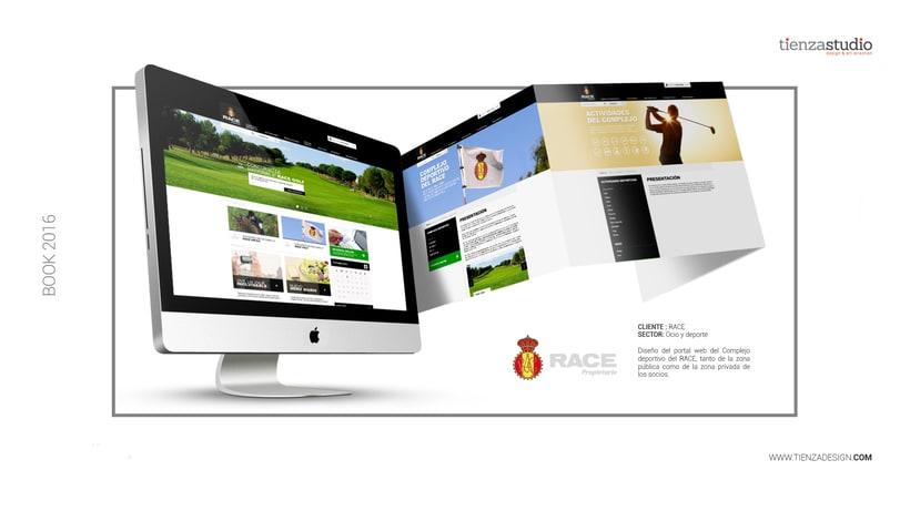 Web Complejo Deportivo Race -1