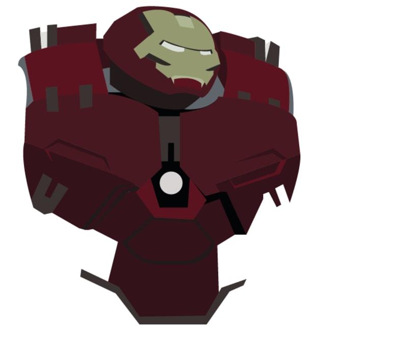 Hulkbuster Vectores 0