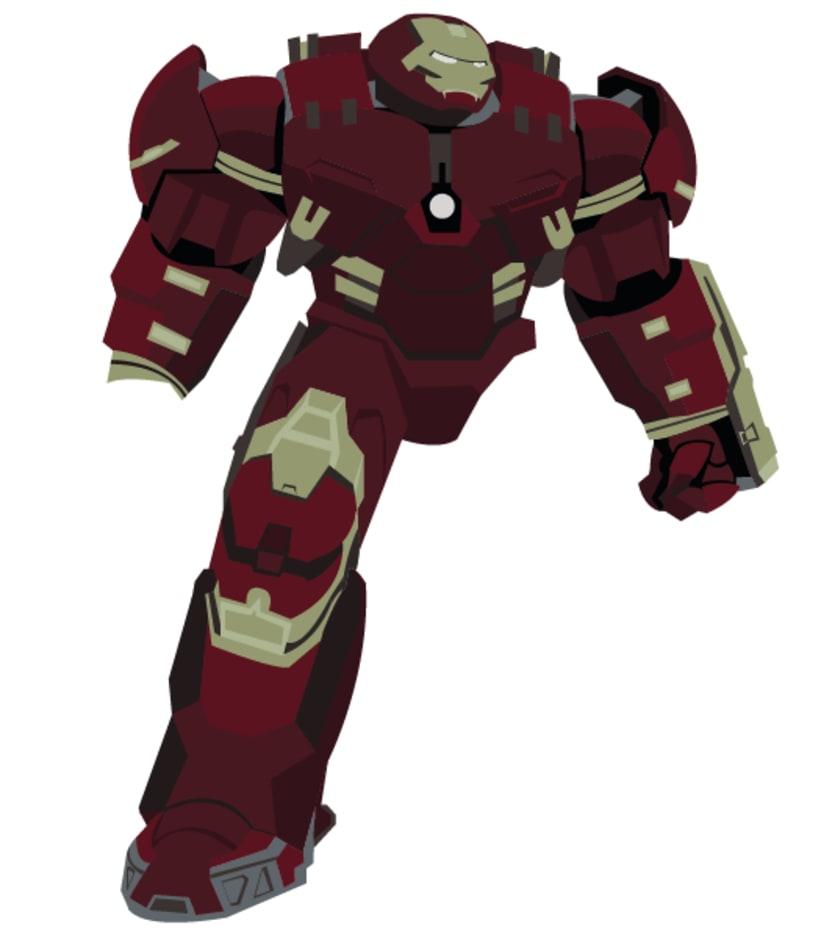 Hulkbuster Vectores 1