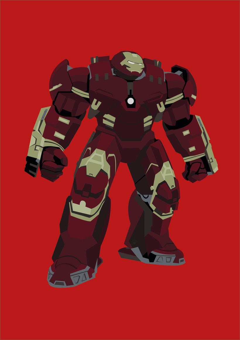 Hulkbuster Vectores 3