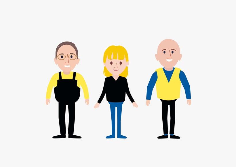 Diseño personajes para animación 1