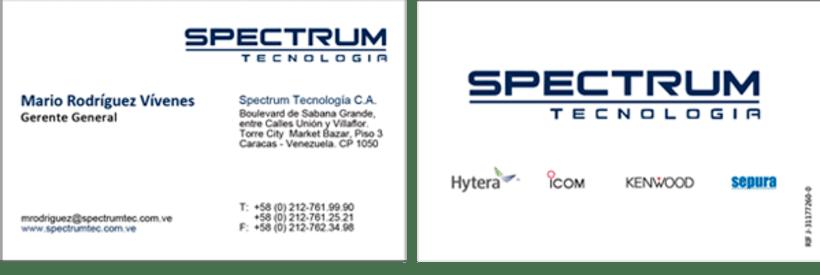 Identidad Corporativa Spectrum 1