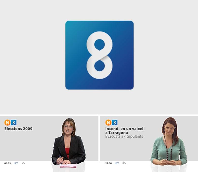 Propuesta de imagen de canal de TV -1
