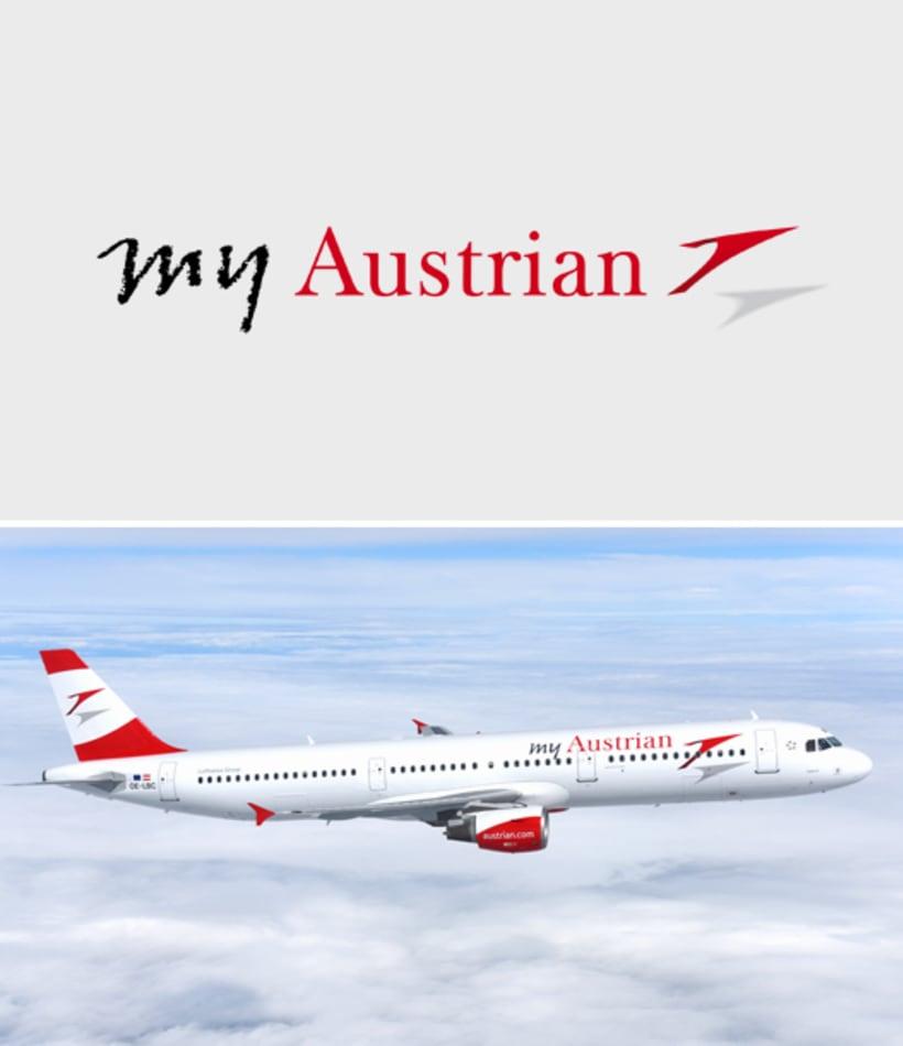 Rebranding para Austrian Airlines -1