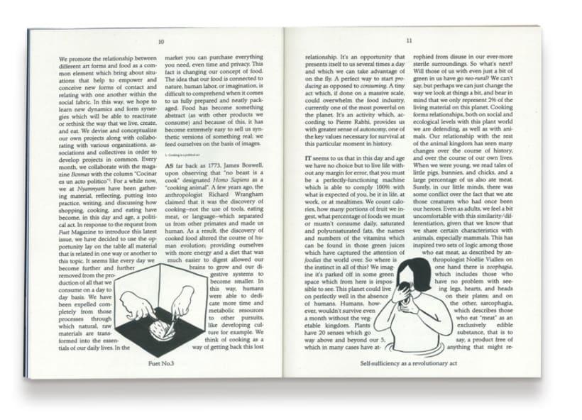 Ilustración Fuet Magazine 0