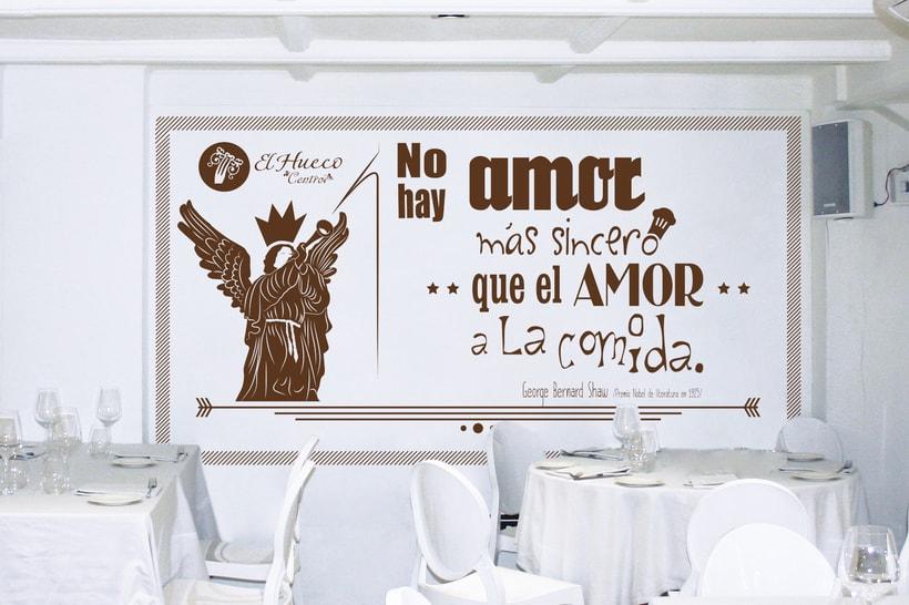 Propuesta decoración El Hueco restaurante -1