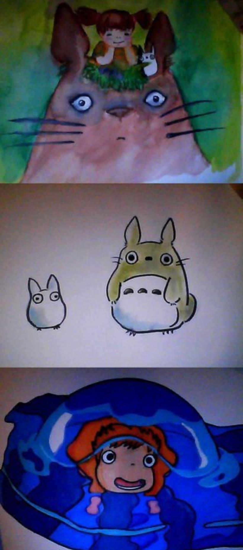 Ghibli/ Acuarela. 2