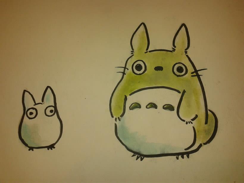 Ghibli/ Acuarela. 3