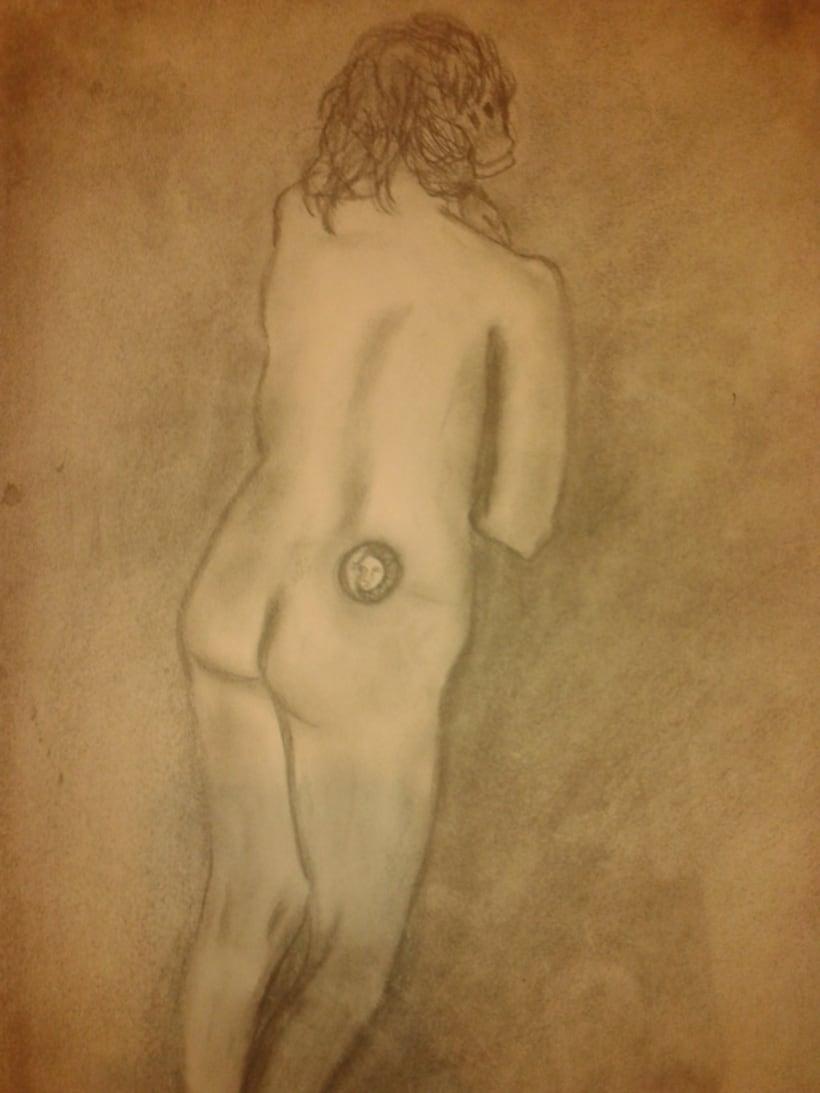Estudio figura humana. 3