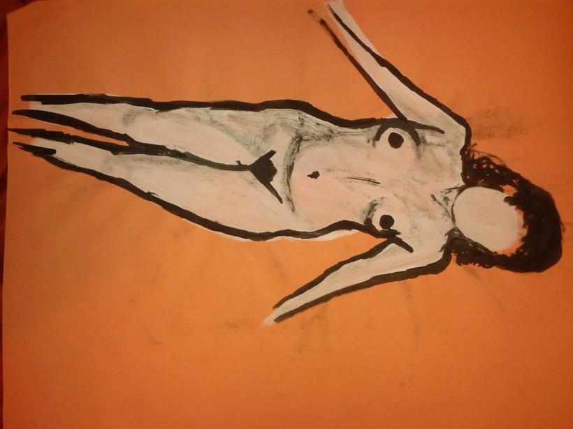 Estudio figura humana. 6