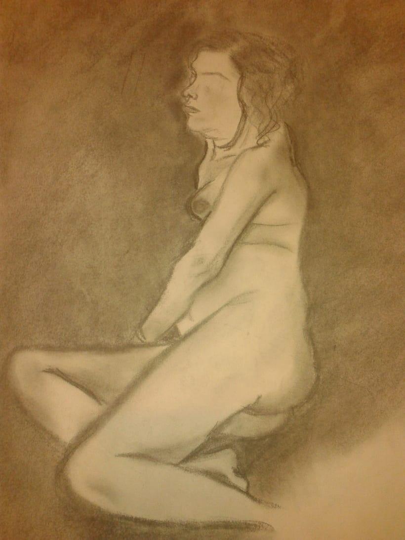 Estudio figura humana. 16
