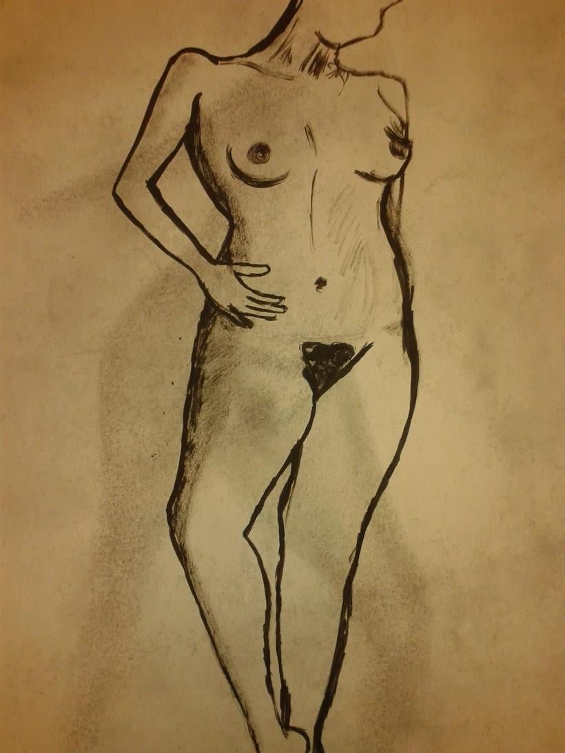 Estudio figura humana. 17