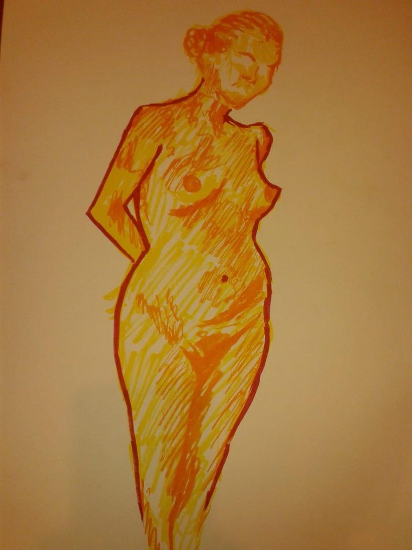Estudio figura humana. 18