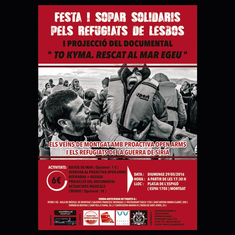 Festa Solidària a favor de Proactiva Open Arms 1