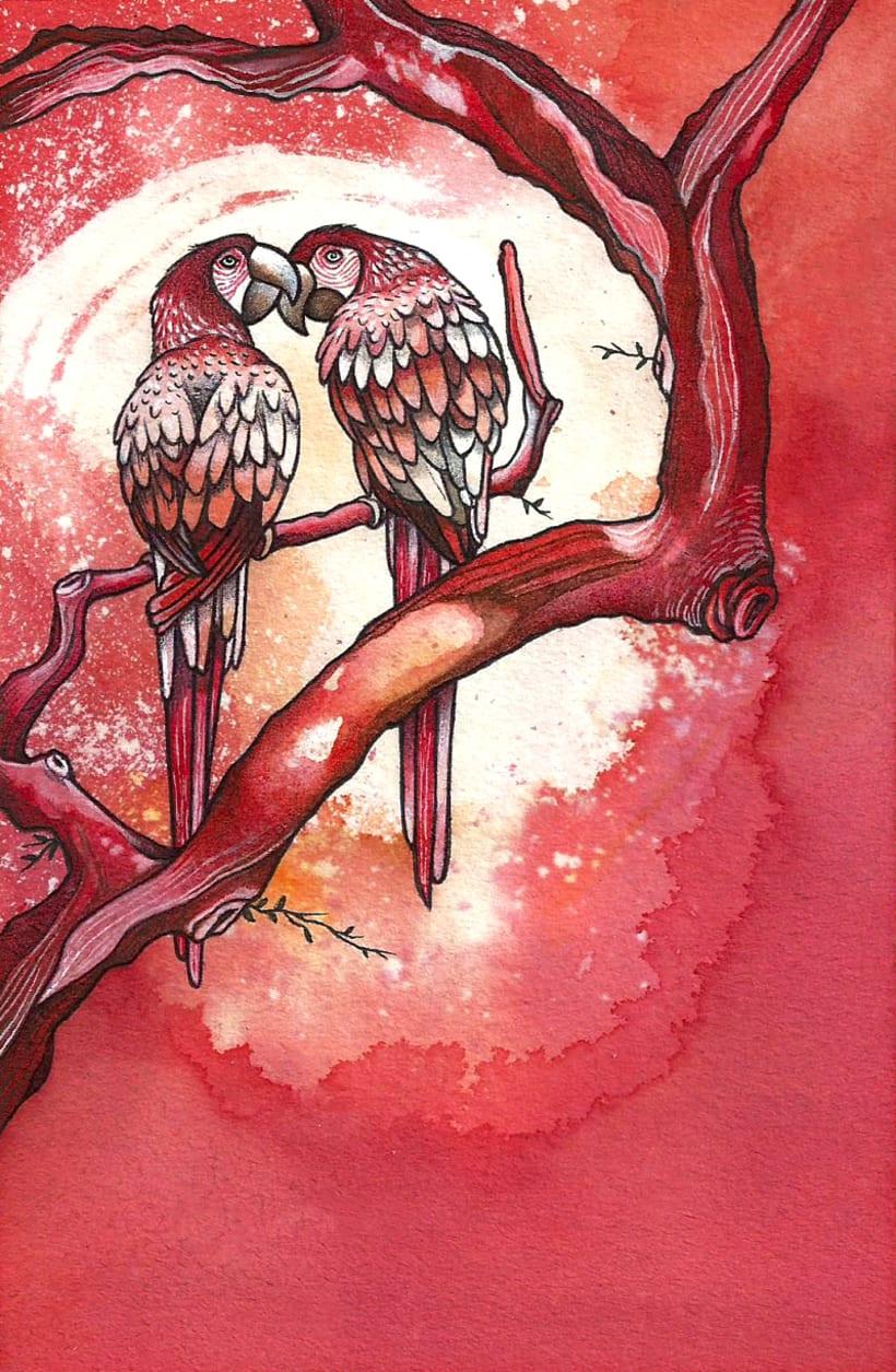 Susurros en los árboles -1