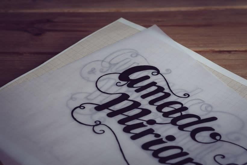 Diseño Invitaciones de Boda Miriam & Amado 1