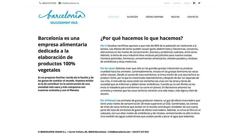 Desarrollo Web/SEO: Barcelonia.net 2