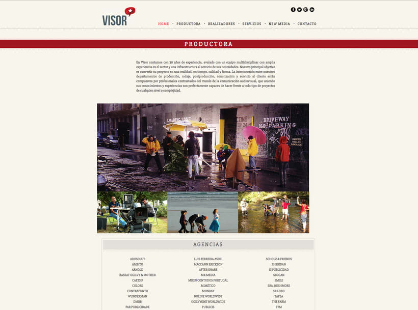 Web Visor Spot Internacional 0