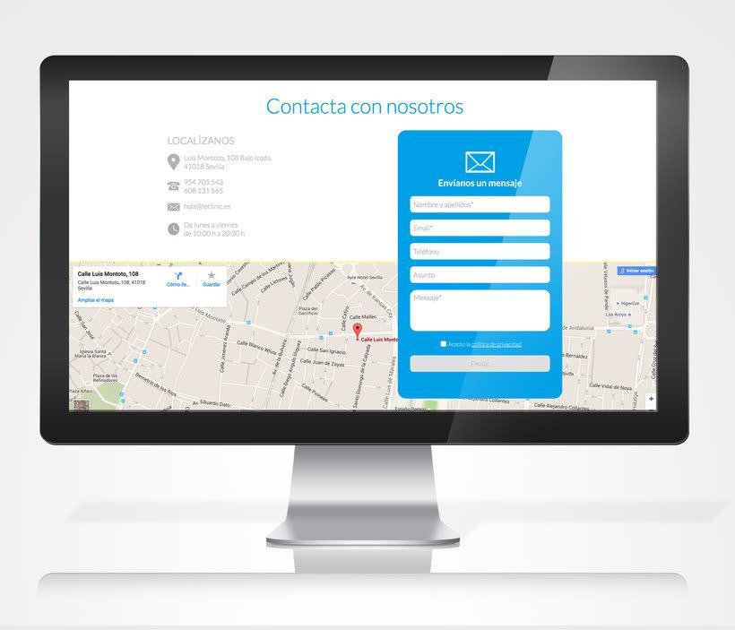 Diseño/Desarrollo Web/UI/UX: LeClinic 2