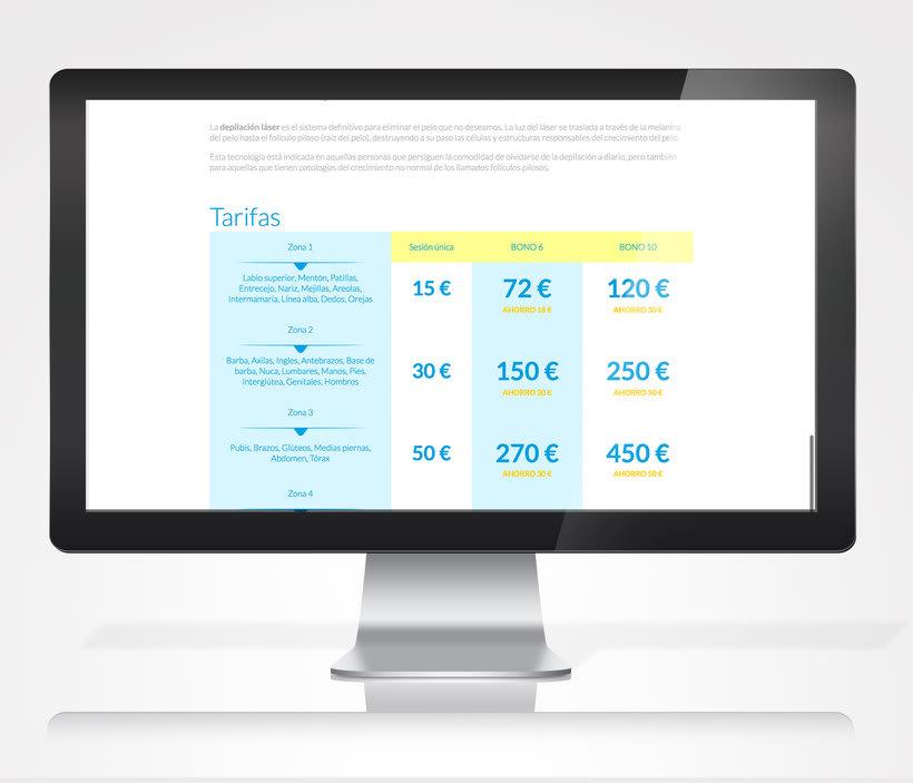 Diseño/Desarrollo Web/UI/UX: LeClinic 1