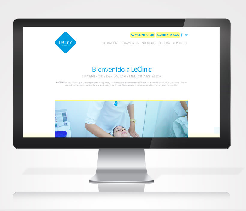Diseño/Desarrollo Web/UI/UX: LeClinic 0