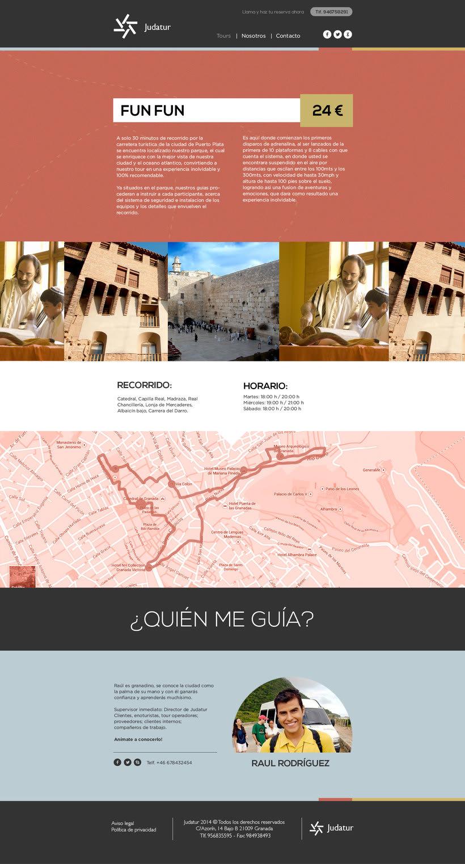 Diseño Web/UI/UX: Judatur 3