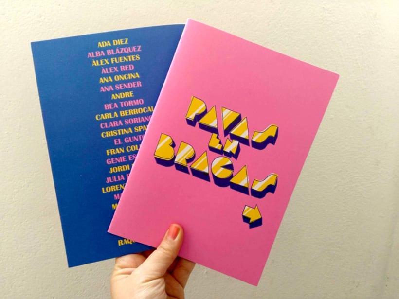 PAVAS EN BRAGAS fanzine 0