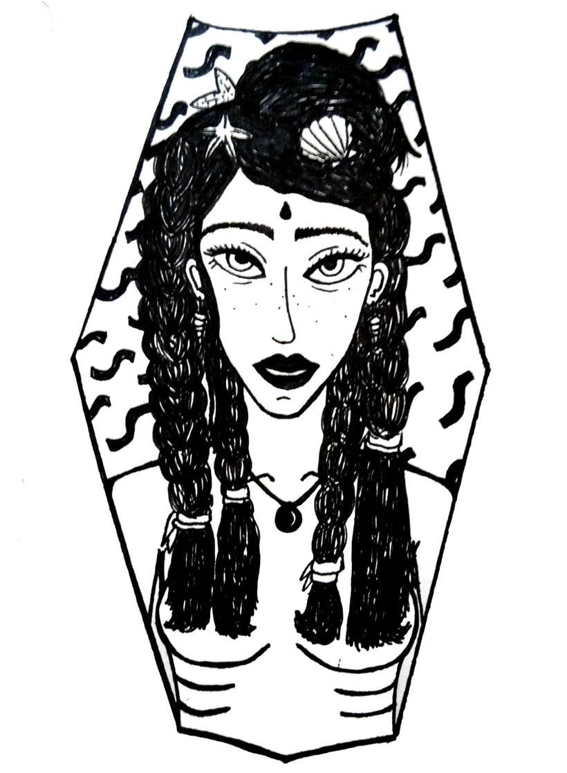 Aquarela i tinta negre 5