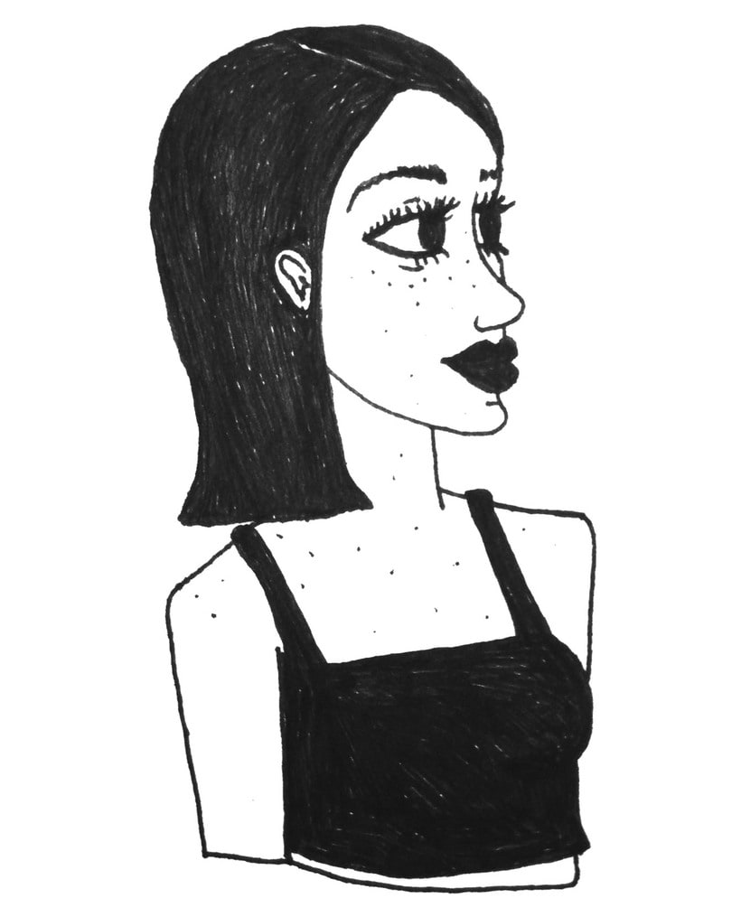 Aquarela i tinta negre 27