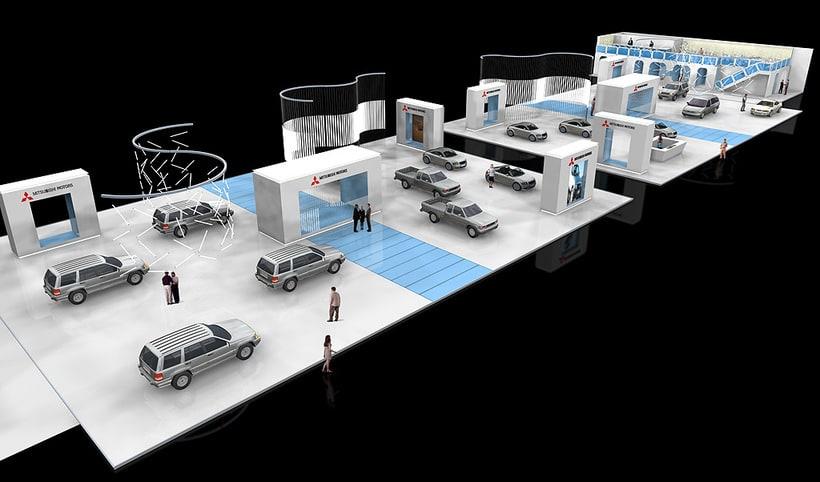 Stand MITSUBISHI Salón internacional del automóvil 5