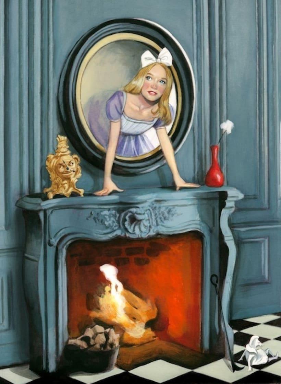 """Libro ilustrado """"Alicia a través del espejo"""" - Lewis Carroll - Nórdica Libros   0"""