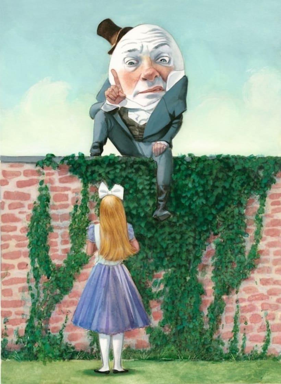 """Libro ilustrado """"Alicia a través del espejo"""" - Lewis Carroll - Nórdica Libros   1"""