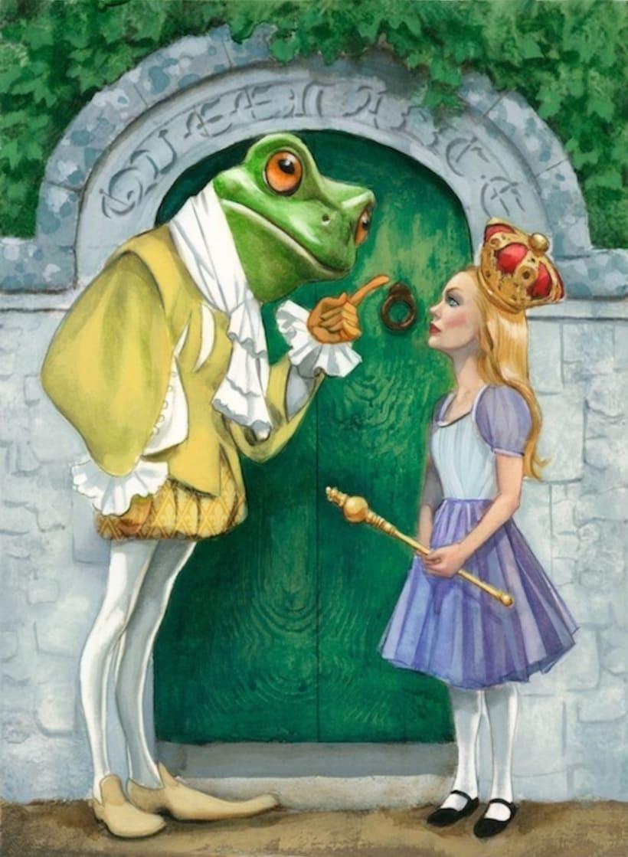 """Libro ilustrado """"Alicia a través del espejo"""" - Lewis Carroll - Nórdica Libros   3"""