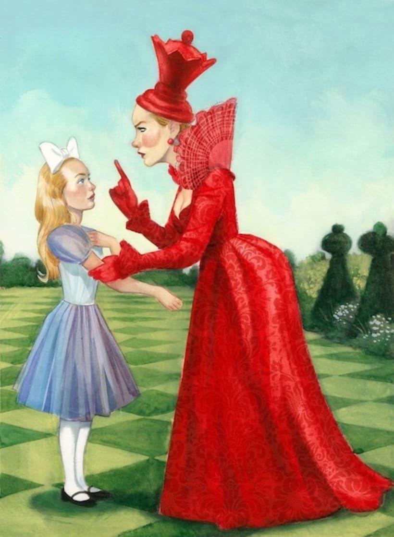 """Libro ilustrado """"Alicia a través del espejo"""" - Lewis Carroll - Nórdica Libros   5"""